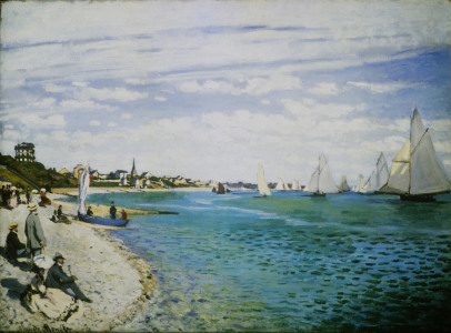 Picture no: 30004006 C.Monet, Regatta in Sainte-Adresse Created by: Monet, Claude