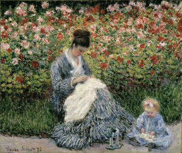 Picture no: 30004016 Monet/ Camille Monet with Child / 1875 Created by: Monet, Claude