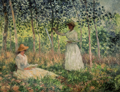 Picture no: 30004018 Monet / Suzanne and Blanche Hochede Created by: Monet, Claude