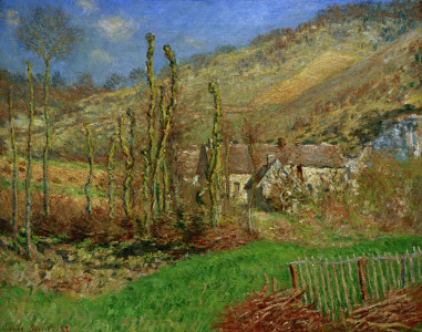 Picture no: 30004022 C.Monet, Val de Falaise im Winter, 1885 Created by: Monet, Claude