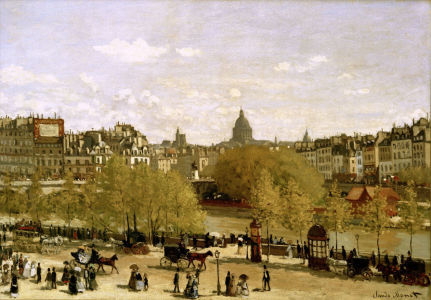 Picture no: 30004032 Paris, Quai du Louvre /Pai. v. C.Monet Created by: Monet, Claude