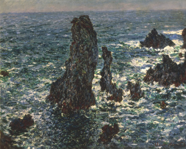 Picture no: 30004036 Monet / Rocks at Belle-Ile / 1886 Created by: Monet, Claude