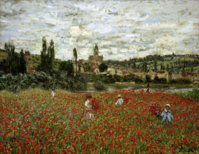 Picture no: 30004054 Claude Monet, Poppy Field nr. Vétheuil Created by: Monet, Claude