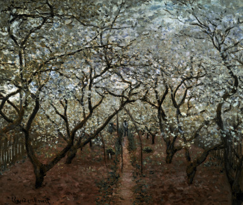 Picture no: 30004058 Monet / Blossoming Orchard / 1879 Created by: Monet, Claude