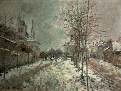 Picture no: 30004060 Monet/ Boulevard de Pontoise at Argent. Created by: Monet, Claude