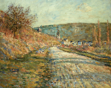 Picture no: 30004062 Monet / The road to Vetheuil / 1880 Created by: Monet, Claude