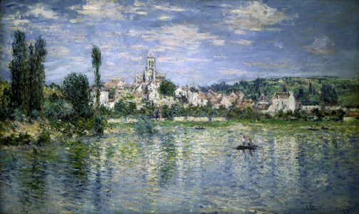 Picture no: 30004068 C.Monet, Vétheuil im Sommer Created by: Monet, Claude