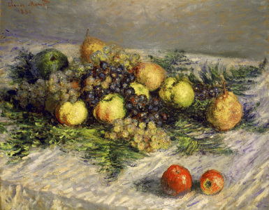 Picture no: 30004084 Monet / Still-life with fruit / 1880 Created by: Monet, Claude