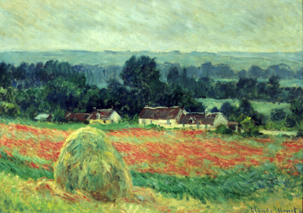 Picture no: 30004086 Claude Monet / Grain Stacks at Giverny Created by: Monet, Claude