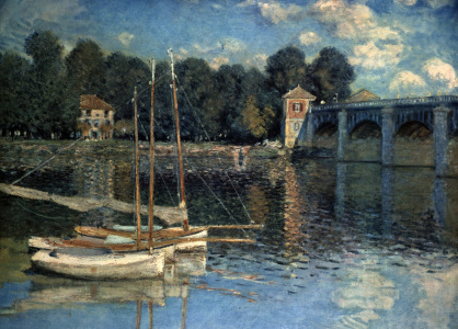 Picture no: 30004110 Claude Monet /Le Pont d'Argenteuil /1874 Created by: Monet, Claude