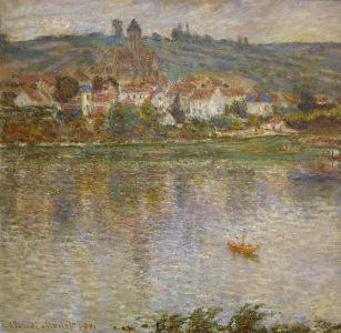 Picture no: 30004126 C.Monet, Die Stadt Vetheuil Created by: Monet, Claude