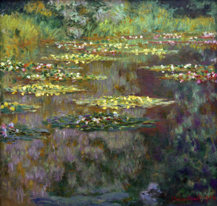Picture no: 30004128 C.Monet / Waterlilies / 1904 Created by: Monet, Claude