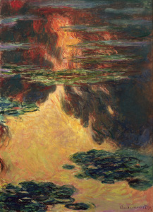 Picture no: 30004132 Monet / Waterlillies / 1907 Created by: Monet, Claude
