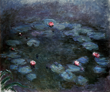 Picture no: 30004136 Monet / Water lilies / c.1914/1917 Created by: Monet, Claude