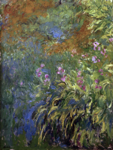 Picture no: 30004142 C.Monet, Iris am Teich Created by: Monet, Claude