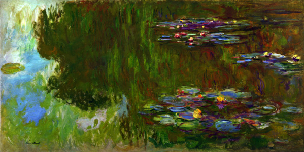 Picture no: 30004144 Monet / Water lilies / 1916/1917 Created by: Monet, Claude