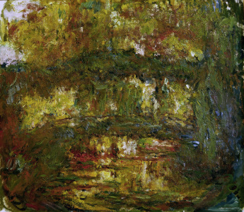 Picture no: 30004154 Monet / The Japanese bridge / 1918/24 Created by: Monet, Claude