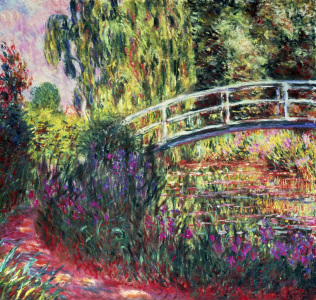 Picture no: 30004156 Claude Monet, The Japanese Bridge Created by: Monet, Claude