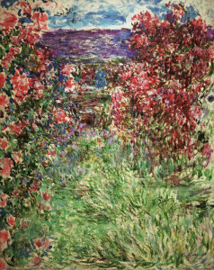 Picture no: 30004168 Claude Monet,Das Haus zwischen den Rosen Created by: Monet, Claude
