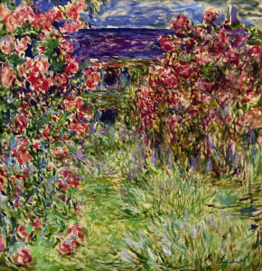 Picture no: 30004170 Monet / House in the roses / 1925 Created by: Monet, Claude