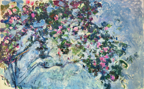 Picture no: 30004172 Monet / The rose-bush / 1925/26 Created by: Monet, Claude