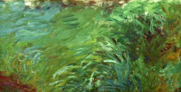 Picture no: 30004174 Claude Monet, Wasserpflanzen Created by: Monet, Claude