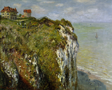 Picture no: 30004182 C.Monet, Steilküste bei Dieppe Created by: Monet, Claude