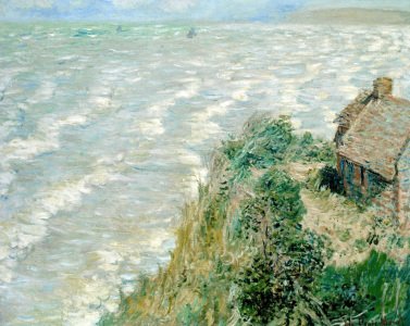 Picture no: 30004186 Monet / Flood in Pourville / 1882 Created by: Monet, Claude