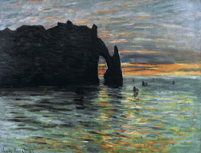 Picture no: 30004188 Claude Monet, Sonnenuntergang Created by: Monet, Claude