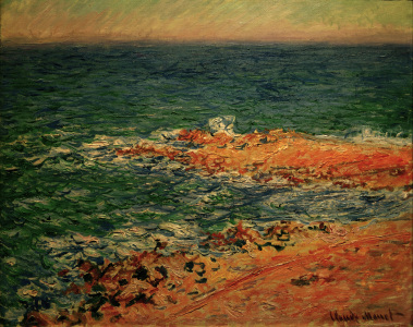 Picture no: 30004192 C.Monet, Blick auf das Meer Created by: Monet, Claude