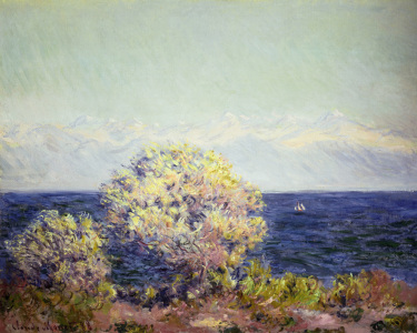 Picture no: 30004194 Claude Monet, Cap d'Antibes in Mistral Created by: Monet, Claude