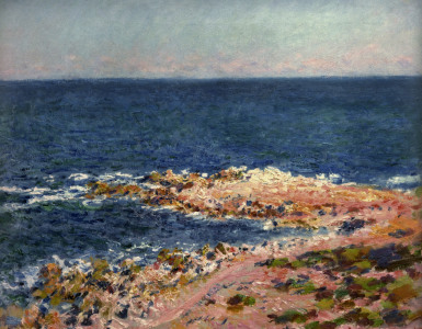 Picture no: 30004196 C.Monet / Grande Bleue in Antibes / 1888 Created by: Monet, Claude