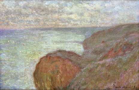 Picture no: 30004198 Monet / Chalk Cliffs near Dieppe Created by: Monet, Claude