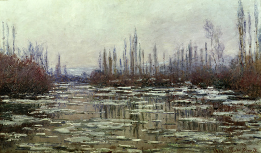 Picture no: 30004202 C.Monet, Eisbruch Created by: Monet, Claude