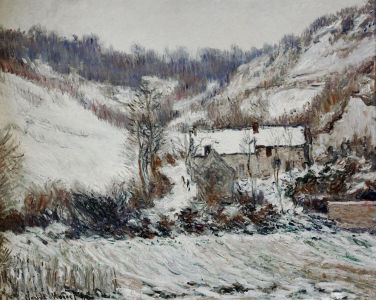 Picture no: 30004204 Monet/Snowy atmosphere near Falaise/1886 Created by: Monet, Claude