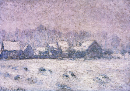 Picture no: 30004206 C.Monet, Snow in Giverny / 1893 Created by: Monet, Claude