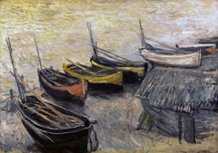 Picture no: 30004226 Claude Monet, Boote am Strand Created by: Monet, Claude