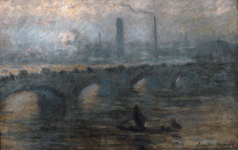 Picture no: 30004236 C.Monet, Waterloo Bridge Created by: Monet, Claude