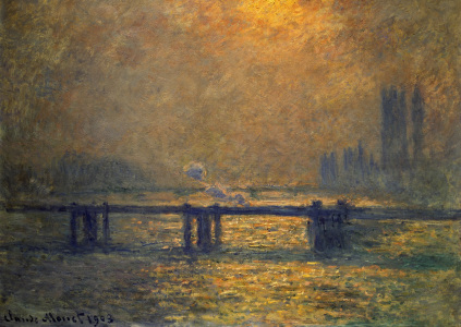 Picture no: 30004240 Monet / Charing Cross Bridge / 1899/1901 Created by: Monet, Claude