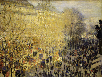 Picture no: 30004248 Monet / Boulevard des Capucines / 1873 Created by: Monet, Claude