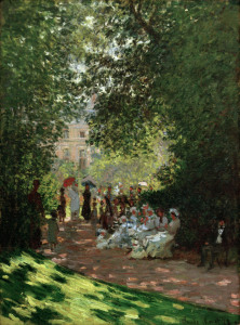 Picture no: 30004250 Claude Monet, Der Park Monceau Created by: Monet, Claude