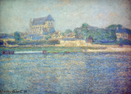 Picture no: 30004256 C.Monet, Kirche in Vernon Created by: Monet, Claude