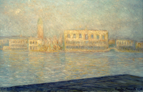 Picture no: 30004262 C.Monet, Der Dogenpalast Created by: Monet, Claude