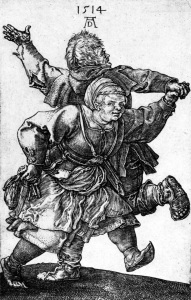 Picture no: 30004318 Dürer / Dancing Peasant Couple / 1514 Created by: Dürer, Albrecht