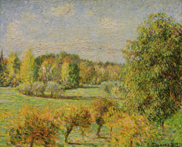Picture no: 30004492 C.Pissarro / Autumn Mood with Nut Tree.. Created by: Pissarro, Camille