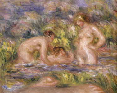 Picture no: 30004504 A.Renoir / Bathers / 1918-19 / Detail Created by: Renoir, Pierre-Auguste