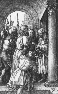 Picture no: 30004552 Christ before Pilate / Dürer / 1512 Created by: Dürer, Albrecht