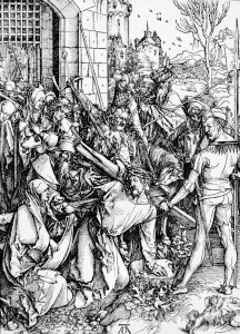 Picture no: 30004554 Carrying the Cross / Dürer / 1497/98 Created by: Dürer, Albrecht