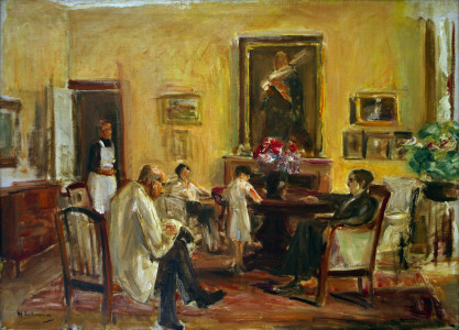 Picture no: 30004620 Max Liebermann / Family / Painting /1926 Created by: Liebermann, Max