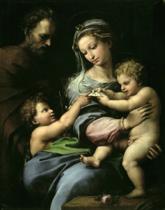Picture no: 30004716 Raphael / Madonna with the rose / c.1518 Created by: Raffaello Santi (Raffael)